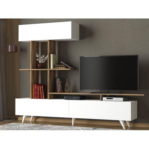 Tekzen modern tv ünitesi tasarımları