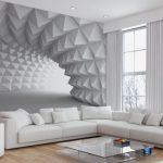 3 boyutlu mağara duvar kağıdı modeli