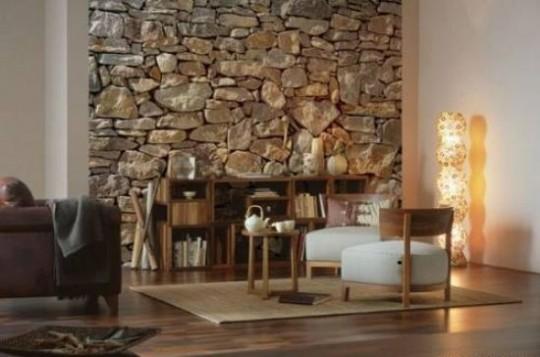 3 boyutlu taş duvar kağıdı çeşitleri