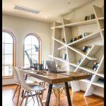 Çalışma odası duvar kitaplığı