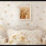 Çiçekli duvar kağıdı modelleri