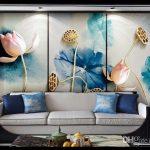 Çiçekli duvar kağıdı örnekleri