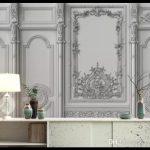 Farklı üç boyutlu duvar kağıdı modelleri