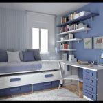Mavi çalışma odası modelleri