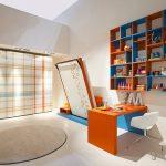 Renkli çalışma odası modelleri