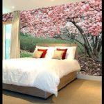 Yatak odası üç boyutlu duvar kağıdı