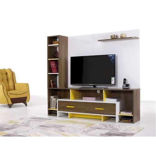 Alpino marvel beyaz venezia beyaz tv ünitesi