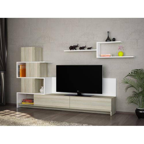 Dekorister amore tv ünitesi beyaz
