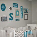 Bebek odası için duvar süsü ve yapıştırmalar