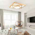 Modern dekoratif salon led aydınlatma