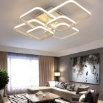 Modern tasarımlı led tavan aydınlatma