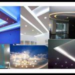 Asma tavan aydınlatma tasarımları