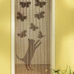 Bambu kapı perdesi