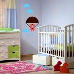 Bebek odası duvar yapışkanları