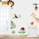 Bebek odası hayvanlı duvar süsü çeşitleri