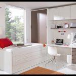 Beyaz genç odası modelleri