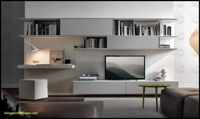 Beyaz spor tv ünitesi tasarımı