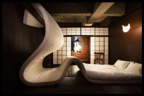 Çılgın yatak odası dekorasyonu