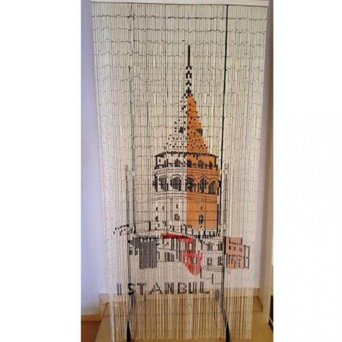Galata kulesi boncuk kapı perdesi
