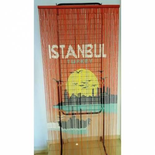 Istanbul boncuk kapı perdesi