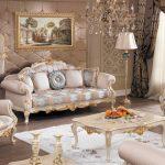 Klasik koltuk takımı dekorasyonu