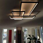 Modern  salon tavanı aydınlatması