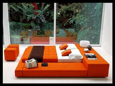 Özel yatak odası dizaynı