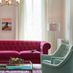 Renkli mobilya dekorasyonları