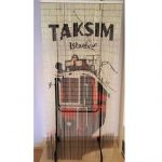 Taksim boncuk kapı perdesi