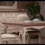 Vintage yemek odası