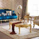 Yeni altın varaklı koltuk takımı modelleri
