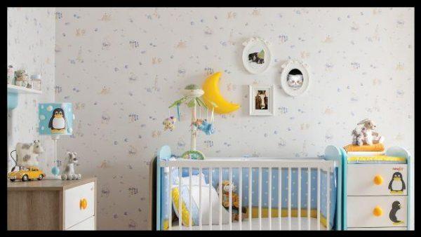 Bebek odası duvar kağıdı örnekleri