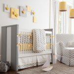 Bej rengi bebek odası takimlari