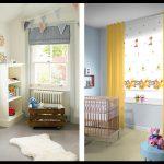 Çocuk odası stor perde desenleri