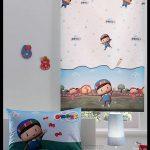 Çocuk odası stor perde