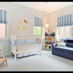 Erkek çocuk odası stor perde modelleri