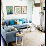 Köşe oturma odası dizaynı