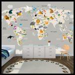 Çocuk odası duvar kaplama