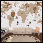 En güzel çocuk odası duvar kağıtları