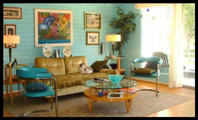 Retro dekorasyon ev tasarımları