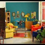 Retro tarzı ev dekorasyon modelleri