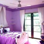 Mor yatak odasi resimleri