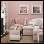 Pembe salon duvar renkleri