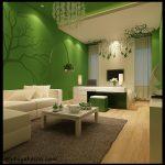 Yeşil salon duvar renkleri