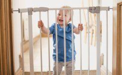 Dubleks merdiven bebek güvenlik kapısı modelleri