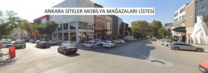 Ankara siteler mobilya imalatçıları