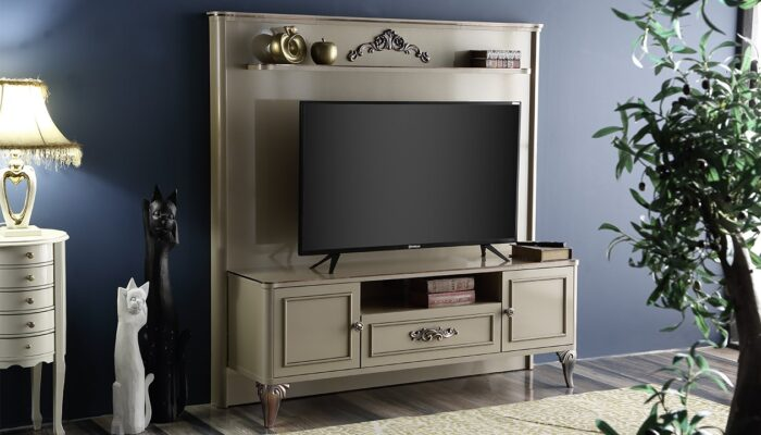 aspendos ipek mobilya tv duvar ünitesi
