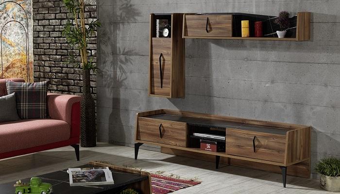 rio ipek mobilya tv duvar ünitesi