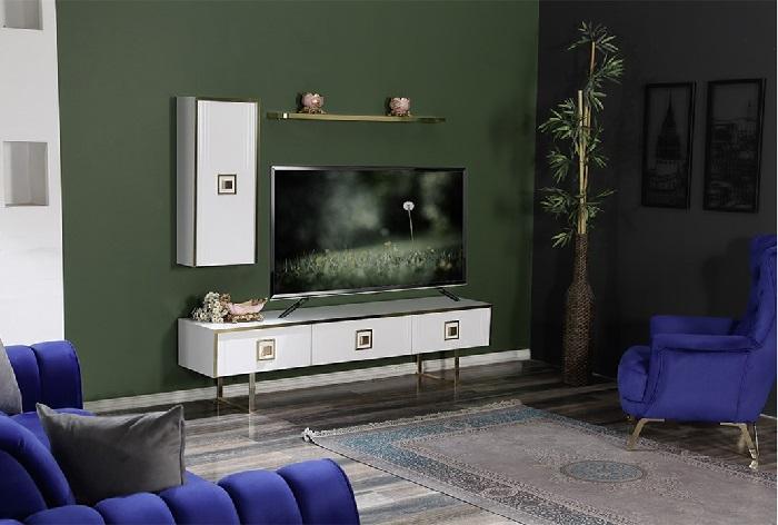 shiny ipek mobilya tv duvar ünitesi