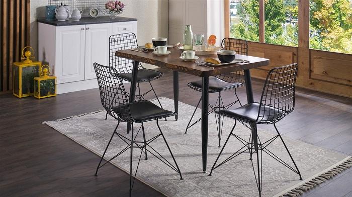 twist mondi mutfak masa sandalye takımı